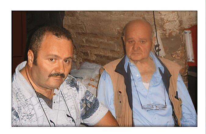 Storia Perugia Fumetti il titolare con Baccelli