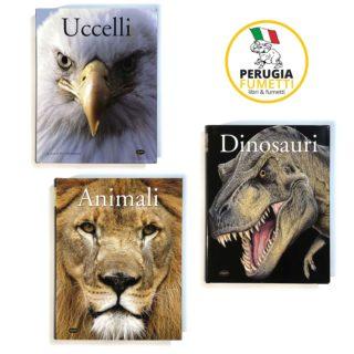 Animali - Dinosauri - Uccelli - Collezione Idealibri 2013 - Perugia Fumetti