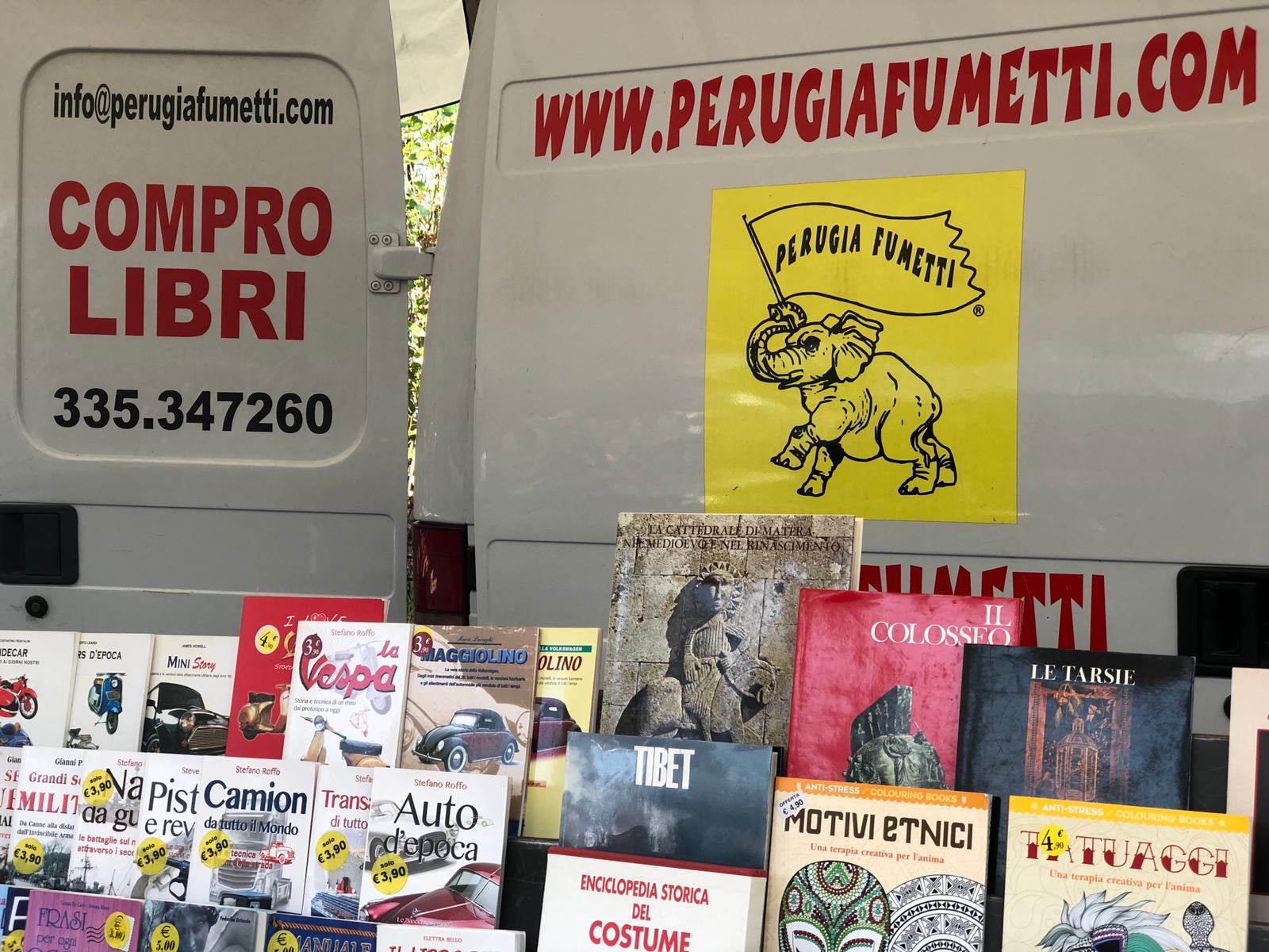 Perugia Fumetti - Mercato Pian Di Massiano - Libri e fumetti usati - 01